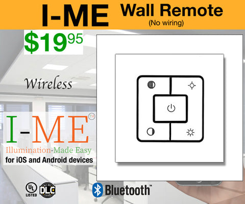Wall Remote for I-ME LED Panel Light (sold separately)