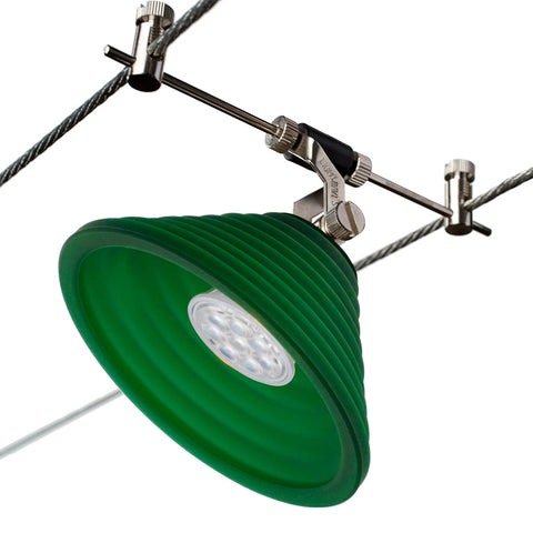 Chi-Ziggurat Green Star LED Cable Lighting Kit