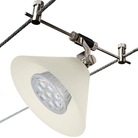 Chi-Cone Frosted White Star LED Cable Lighting Kit