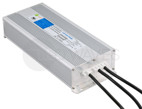 Waterproof IP67 LED Power Supply (12V DC, 150 Watt)