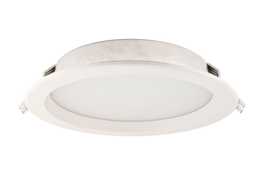 1 2 Inch Baffle Trim 10 Round Recessed Led Light