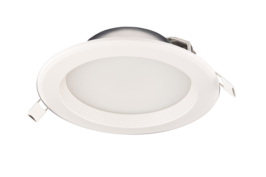 Pr35 4 baffle trimmed led recessed light wdriver 5 year warranty 12 inch baffle trim 4 inch round recessed led light aloadofball Images