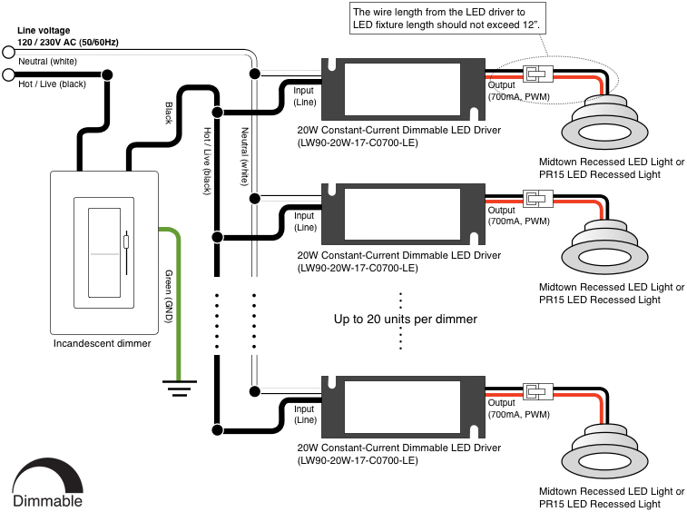 wiring diagram for led dimmer – the wiring diagram, Wiring diagram