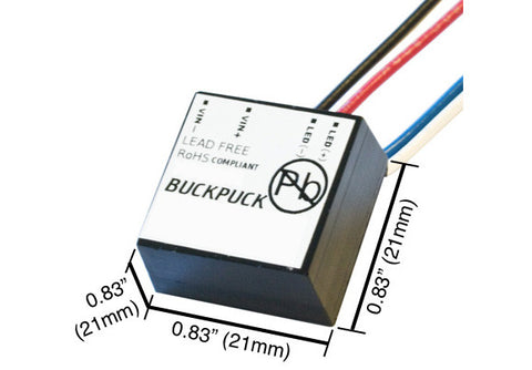 BuckPuck Constant Current LED Driver (700mA) Measurements