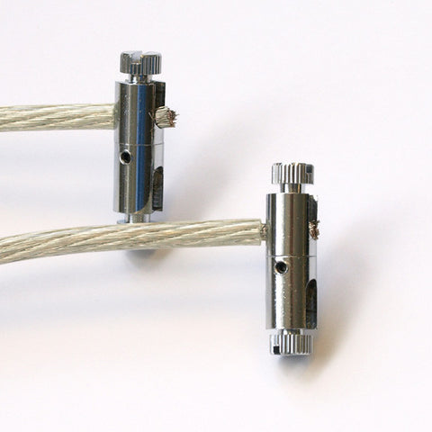 power feed for cable lighting system cable lighting fixtures