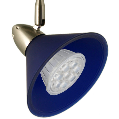 Chi-Cone Blue Flex II LED Track Lighting Kit