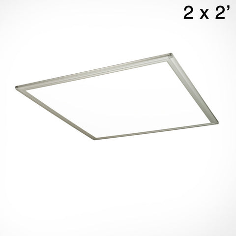 2x2' Contour Ultra-Thin Side-Lit LED Panel Light (front)