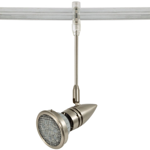 Epsilon Satin Nickel Flex II LED Track Lighting Kit with Louver