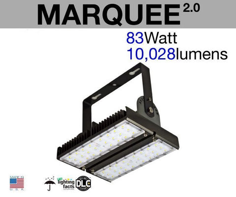 MARQUEE Outdoor LED Flood Light (2-Pack)