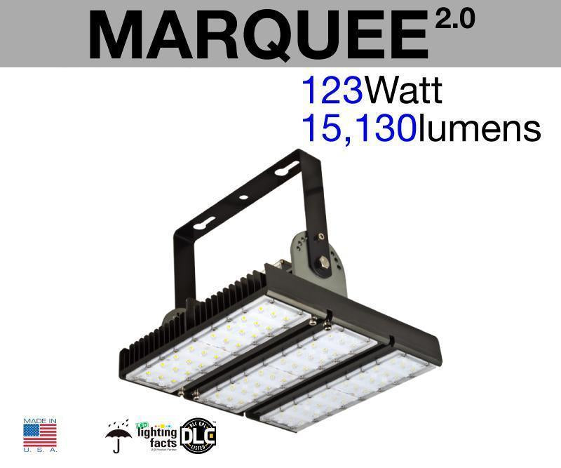 MARQUEE Outdoor LED Flood Light (3-Pack)