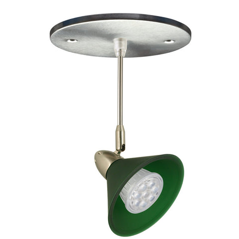 Chi-Cone Mono-point LED Fixture (Green)