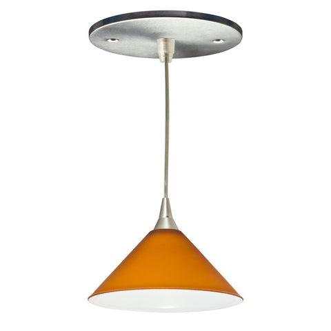 Lambda Mono-point LED Fixture (Cognac)