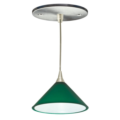 Lambda Mono-point LED Fixture (Green)