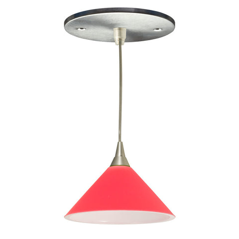 Lambda Mono-point LED Fixture (Red)