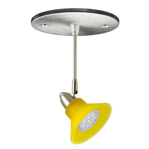 Neo-Cone Mono-point LED Fixture (Yellow)