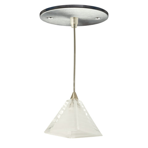 Pyramid Mono-point LED Fixture (Frosted White)