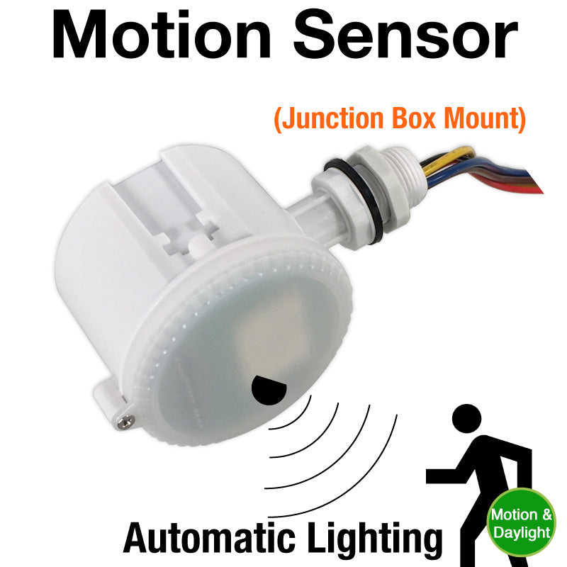 Microwave Motion Sensor with Daylight Sensor