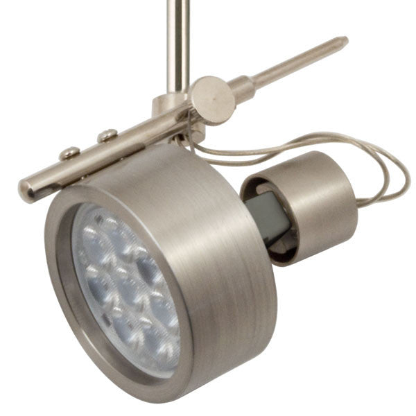 Omega Satin Nickel Flex II LED Track Lighting Kit