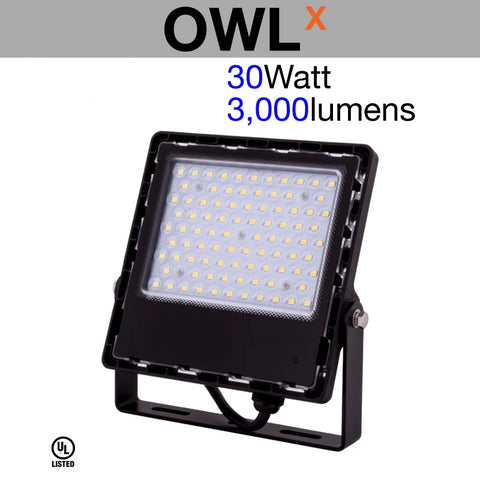 OWL X Slim Outdoor LED Flood Light
