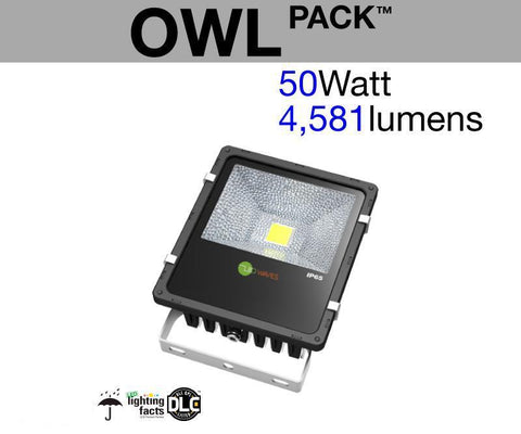 OWL Pack™ Outdoor LED Flood Light (50 Watt)