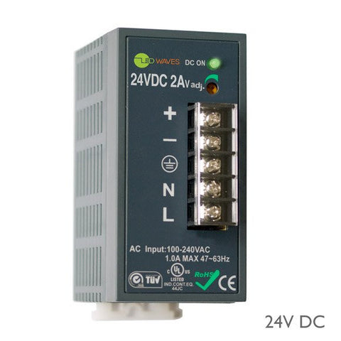 24 Volt DC Remote Power Supply (48 Watt)