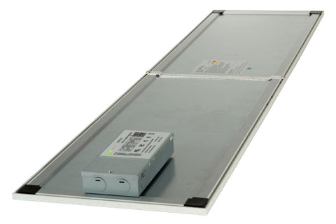 Skylight2 Ultra Thin 1x4 ft LED Panel Light (back view)