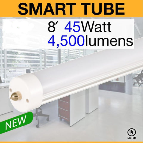 SMART T8 FA8 Electronic Ballast Compatible LED Tube (8ft)