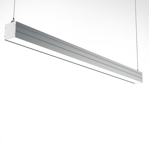 Streamline 4 foot LED Linear Light with suspension mount