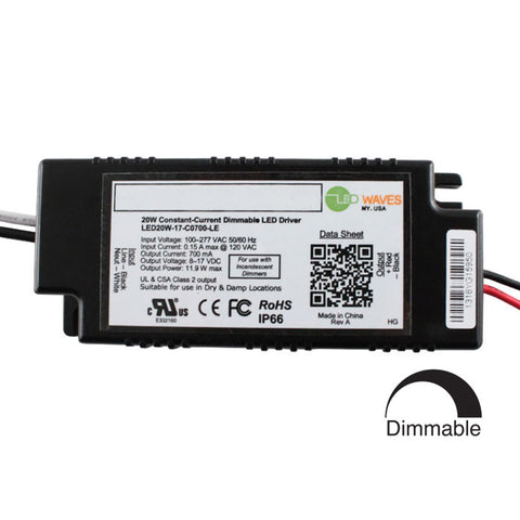 Midtown 2.1 LED Recessed Light Dimmable LED Driver