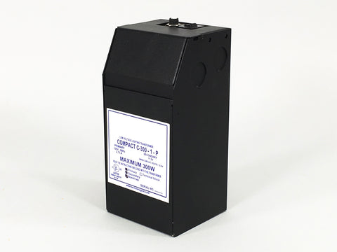 300 Watt Magnetic 12 Volt Remote Transformer (120VAC in, 12VAC out)