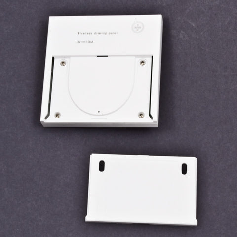 Back side of the swtch (mounting plate is shown)