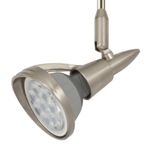 Zeta Satin Nickel Flex II LED Track Lighting Kit