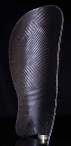 C6 Shin Guards - Gen 4 - Handmade 100% Carbon Fiber