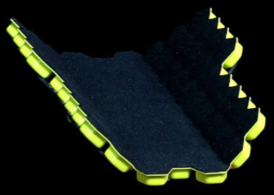 Soccer/Football - Hex Elite Carbon - Handmade 100% Carbon Fiber Shin Guards - Back