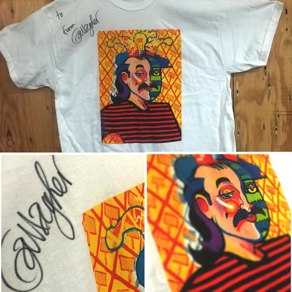 "Gallagher Autographed ""To"" T-Shirt"