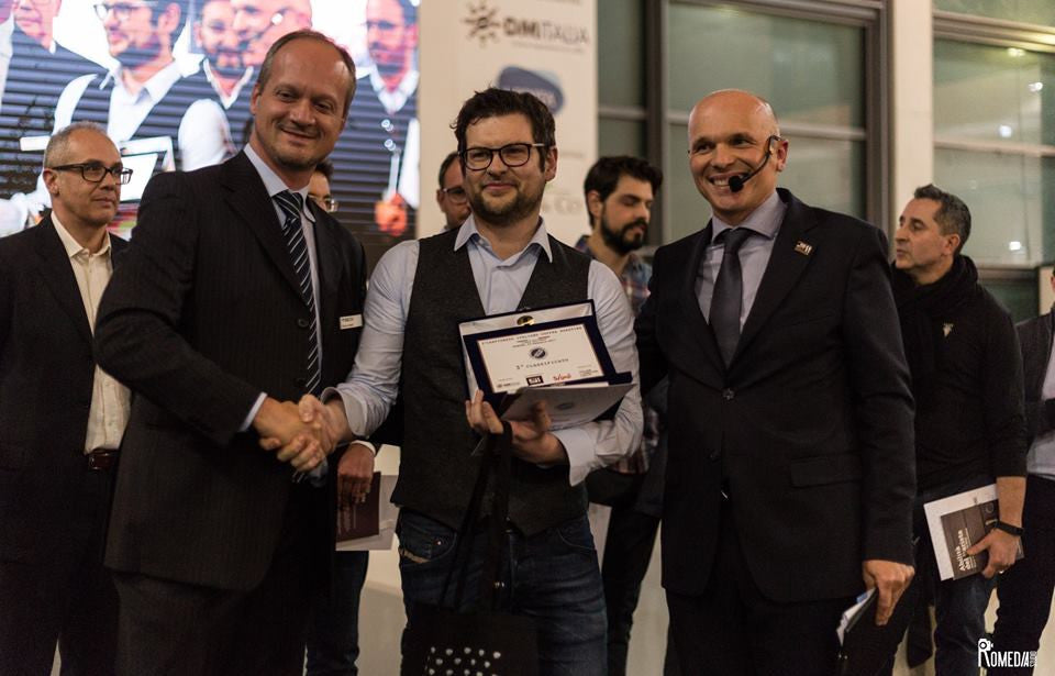 3rd place in the Italian Roasting Championship 2017!!