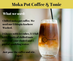 Moka Pot Coffee & Tonic