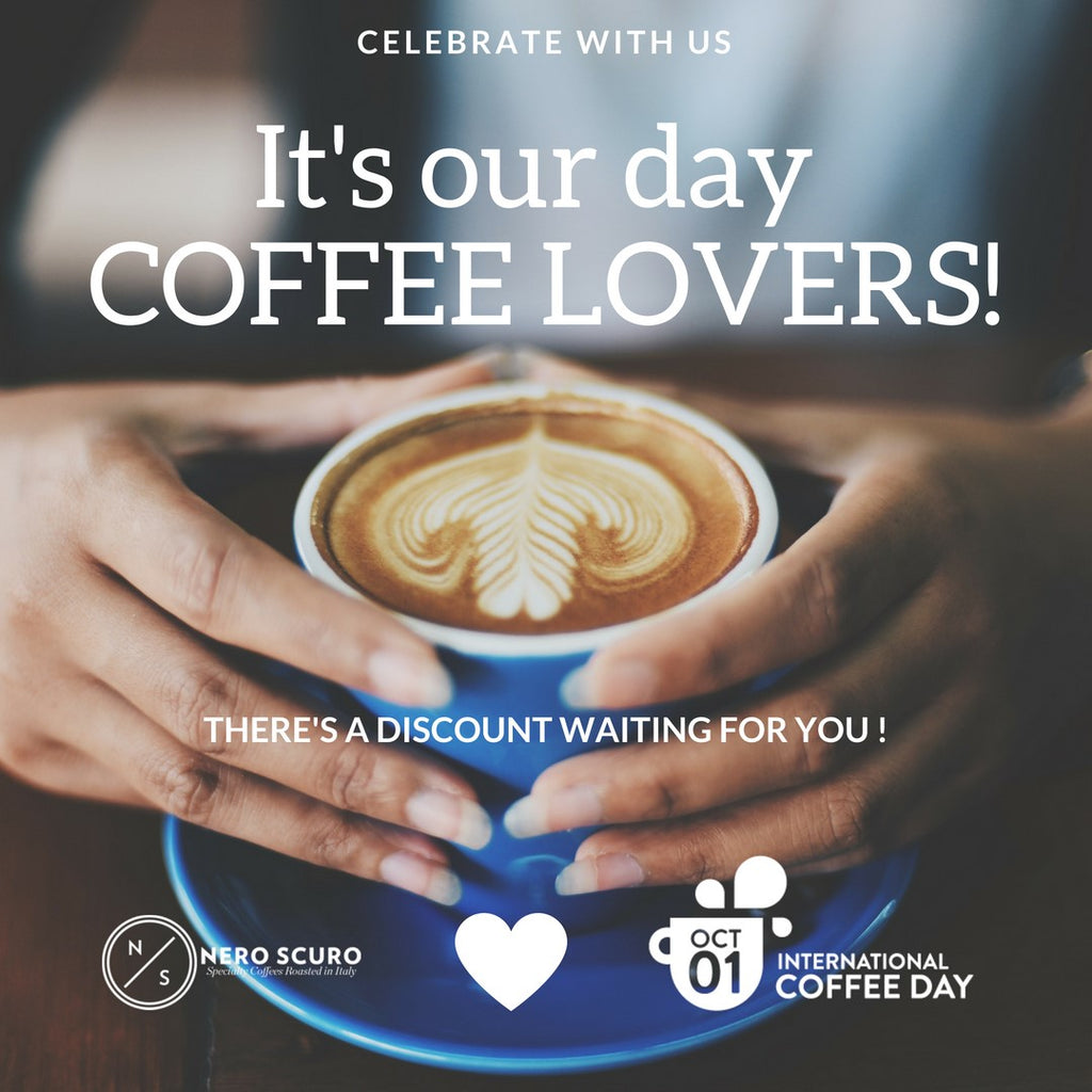 Special Promotion for International Coffee Day 2018