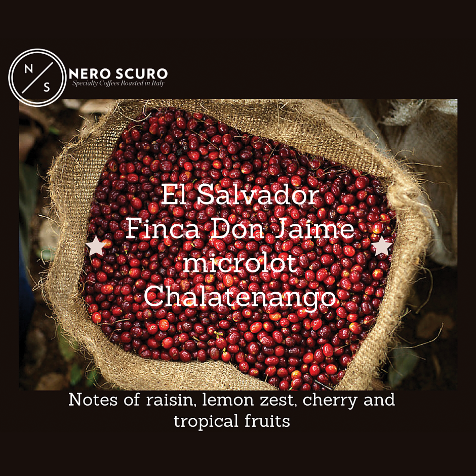 Unexpected aromas in this new microlot from El Salvador