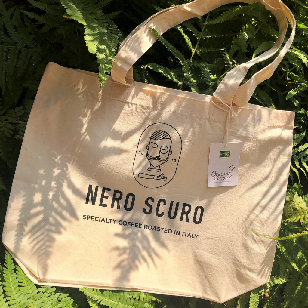 Nero Scuro Tote Bag - Organic Cotton 💝