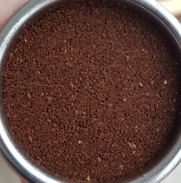 coarser ground sample