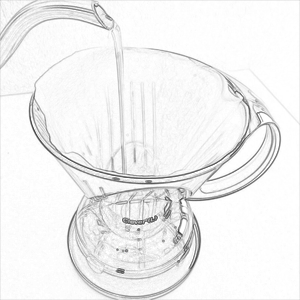 Wash the Clever Dripper paper filter - Nero Scuro Specialty Coffees