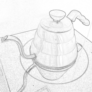 Boil the water for clever dripper - Nero Scuro Specialty Coffees