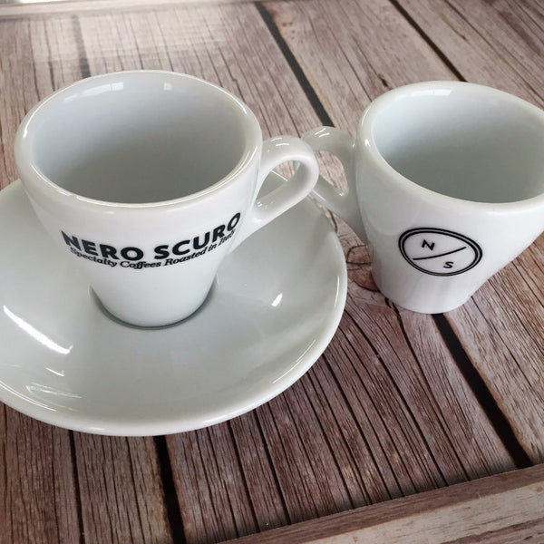 Nero Scuro Espresso Cup 90ml/3oz & Saucer