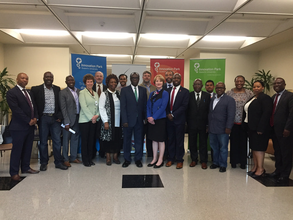 SADC Heads of Mission to Canada delegation with Queen's University representatives during a visit to Kingston hosted by MAPP Africa