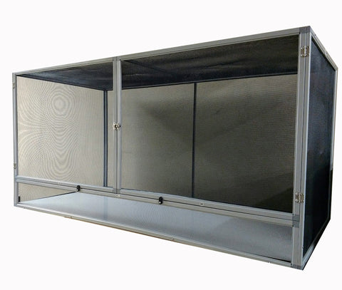 HC4 - 24x48x24 Jumbo HORIZONTAL <B>ALL SCREEN</B> Reptile Cage