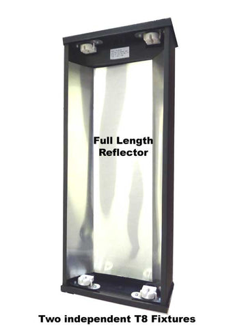 "24"" DUAL FLOURESCENT LIGHT FIXTURE - MODEL FH4"