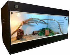 "CRITTER CONDO - 48""X24""X24"" with T5HO LIGHTING. TWO COLORS AVAILABLE."