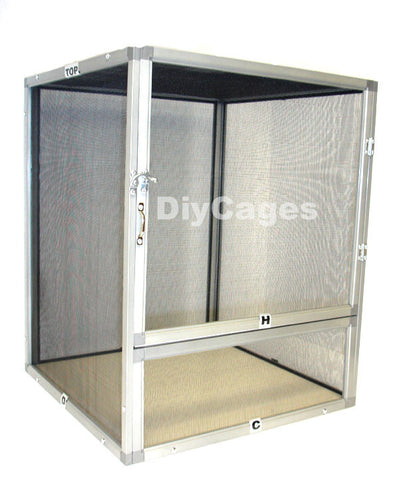 SC1 - 20x16x16 Screen Reptile Cage