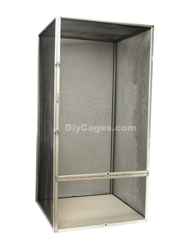 SC3 - 36x18x18 Large Vertical Screen Reptile Cage